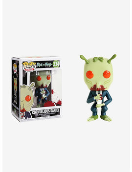 Funko Rick And Morty Pop! Animation Cornvelious Daniel Vinyl Figure by Hot Topic