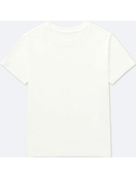 Kids Packaged Colour Crew Neck Short Sleeve T Shirt by Uniqlo