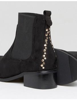 Park Lane Stud Trim Chelsea Boot by Shoes