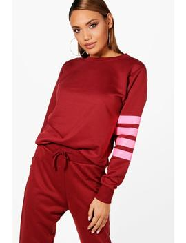 Lisa Athleisure Running Sweat Top by Boohoo