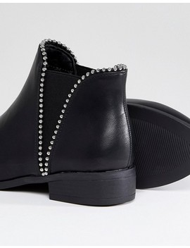 New Look Wide Fit Stud Chelsea Flat Boot by New Look