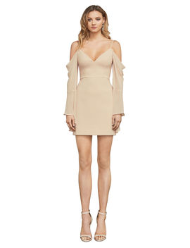 Palm Cold Shoulder Dress by Bcbgmaxazria