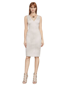 alda-faux-suede-dress by bcbgmaxazria