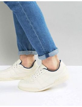Asos Sneakers In White With Split Sole by Asos