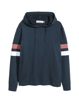 Drop Shouldered Hooded Top by H&M