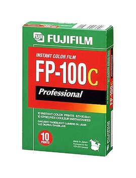 Fp 100 C Professional Instant Color Film Iso 100 (10 Exposure, Glossy) by Fujifilm