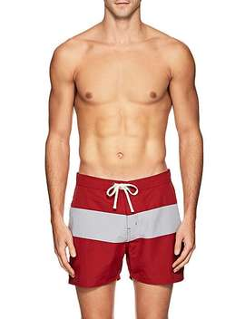 Grant Striped Board Shorts by Saturdays Nyc