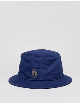 Luke Sport Dayton Bucket Hat In Navy by Luke Sport