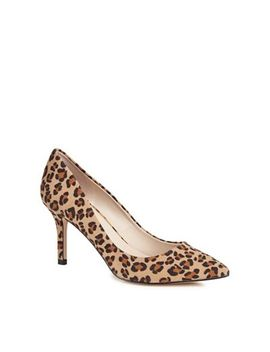 Faith   Tan Suedette 'chariot' High Stiletto Heel Pointed Shoes by Faith