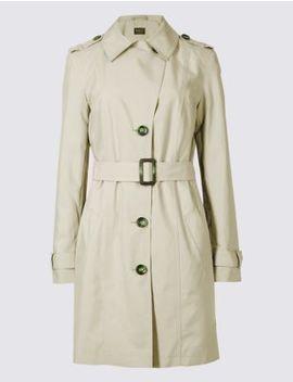Trench Coat With Stormwear™ by Marks & Spencer