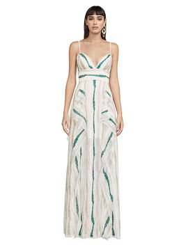 Liliana Tulle Maxi Dress by Bcbgmaxazria