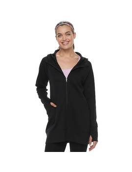Women's Tek Gear® Thumb Hole Long Jacket by Tek Gear
