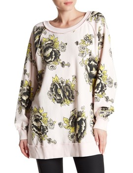 Go On Floral Pullover by Free People