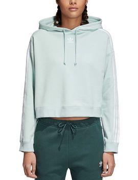 Adidas Originals Women's Cropped Hoodie by Adidas