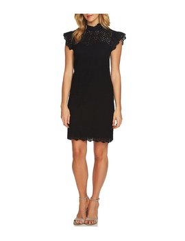 Floral Lace Dress by Ce Ce
