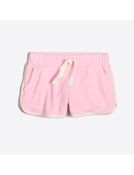 Girls' Terry Pull On Short by J.Crew