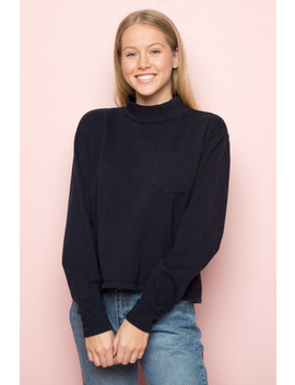 Angel Turtleneck Top by Brandy Melville