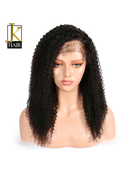 Lace Front Human Hair Wigs For Black Women Kinky Curly Wig Remy Peruvian Pre Plucked With Baby Hair No Split End Elegant Queen by Elegant Queen Official Store