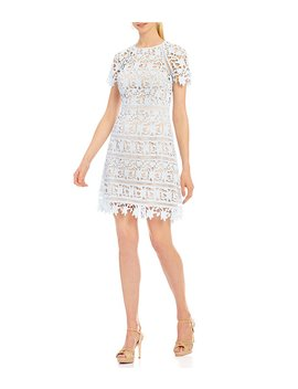 Lace A Line Dress by Eliza J
