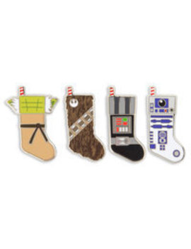 Star Wars Holiday Stocking Pin Set by Disney