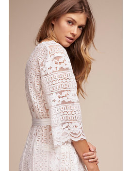 Willow Lace Robe by Bhldn