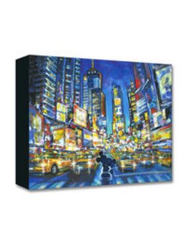 Mickey And Minnie Mouse ''you, Me, And The City'' Giclée On Canvas By Stephen Fishwick by Disney