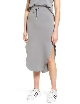 Long Fleece Skirt by Frank & Eileen