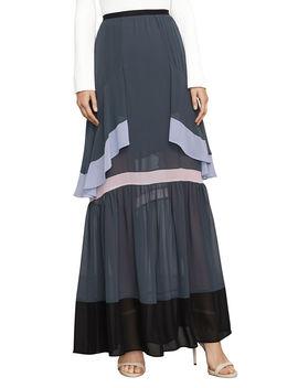 Yuliana Color Blocked Maxi Skirt by Bcbgmaxazria