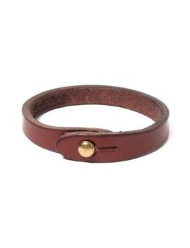 Wristwrap Leather Bracelet by Wood&Faulk
