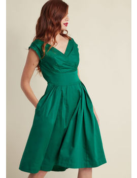 Emily And Fin Keener Postures Midi Dress In Clover Emily And Fin Keener Postures Midi Dress In Clover by Emily And Fin