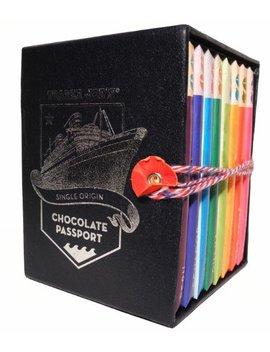 Trader Joe's Chocolate Passport Single Origin 8x 45g Bars by Trader Joes