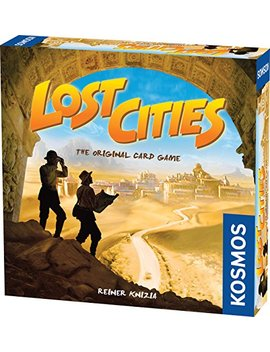 Lost Cities   The Card Game by Thames & Kosmos