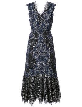 Flared Lace Dress by Jonathan Simkhai
