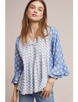 Embroidered Eyelet Blouse by Seen Worn Kept
