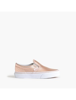 Girls' Junior Vans® Classic Slip On Sneakers by Girls' Junior Vans