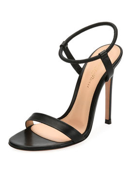 Lamb Leather Ankle Strap Sandal by Gianvito Rossi