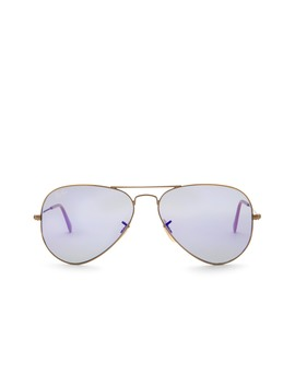 Men's Aviator Large Metal Sunglasses by Ray Ban