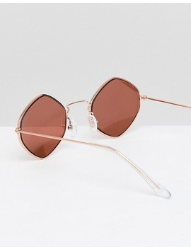 New Look Small Round Sunglasses by New Look