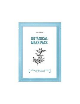 Bonvivant Botanical Real Mask Mint + Tea Tree (10 Ea) by Amazon