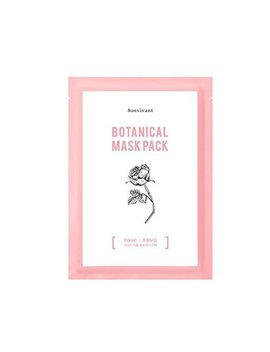 Bonvivant Bon Vivant, Rose Botanical Mask, 10 Pack by Bon Vivant