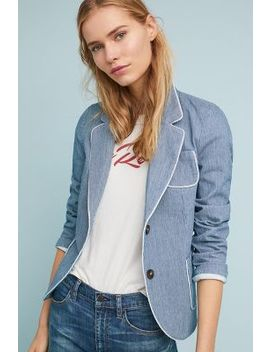 Cara Textured Blazer by The Korner