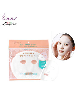 Lameila Face Mask Sheet Non Woven Mask Paper Mask Cloth Ultra Thin Breathable Water Proof Allergy Free Beauty Mask by Ba La La