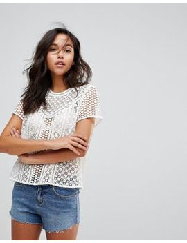 Abercrombie & Fitch Laser Cut Top by Abercrombie & Fitch