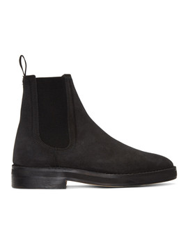 Black Chelsea Boots by Yeezy