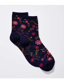 Wildflower Ankle Socks by Loft