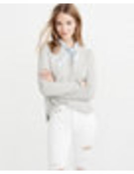 Cashmere Linen Blend Sweater by Abercrombie & Fitch