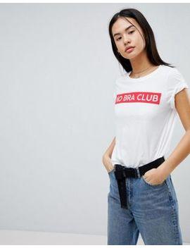 Noisy May   T Shirt Avec Slogan by Noisy May