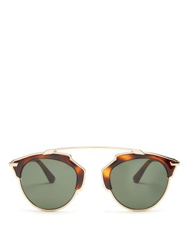 So Real Aviator Sunglasses by Dior