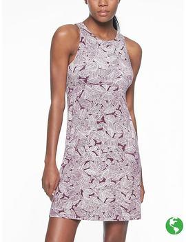 Santorini High Neck Printed Dress by Athleta