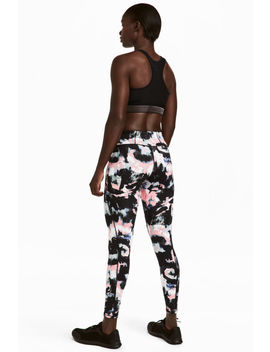 Sports Tights Shaping Waist by H&M